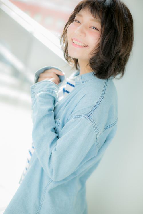 【Euphoria/三田淑絵】伸ばしかけもOK!暗髪ミディ☆