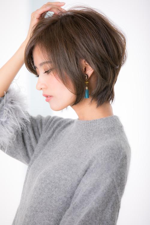 【Euphoria】大人ノーブルショート☆くびれ耳かけスタイル