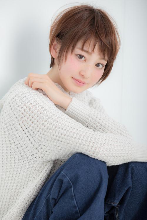 【Euphoria】☆ふんわりひし形フォルム☆大人ガーリーショート