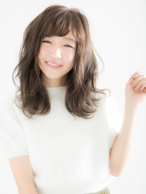【Euphoria】小顔になれるふんわり愛されセミディ☆