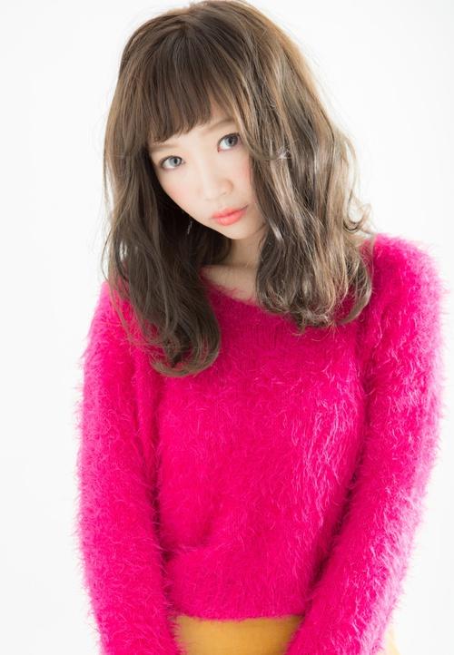 【Euphoria】前髪で甘さを☆リラクシーセミディ☆