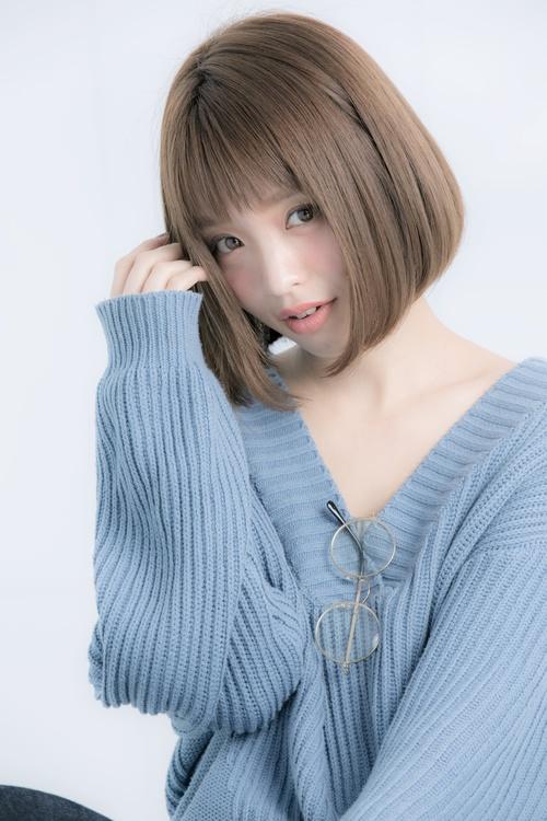 【Euphoria大人かわいいフリンジバングボブ☆