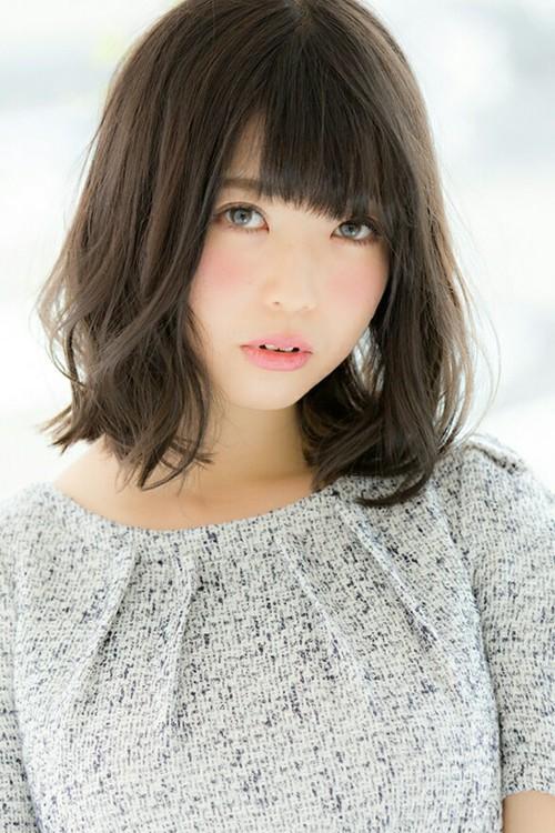 アッシュグレージュ☆柔らかシフォンカール
