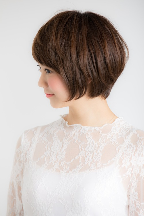 【Euphoria】シルエットの綺麗な小顔ショート☆【山村】