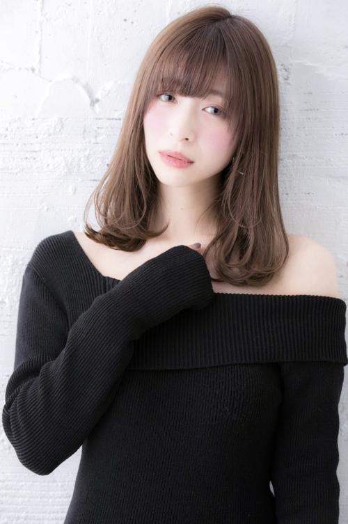 【Euphoria佐藤】ベージュカラー☆小顔スヌーピー巻き愛されロブ