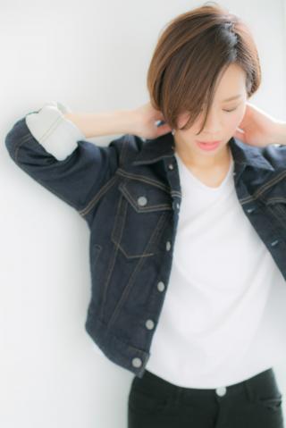 【Euphoria】☆大人めクールに☆シンプル前下がりショート