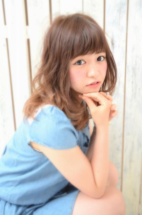 【Euphoria】☆フェミニン×キュート☆最新セミディ