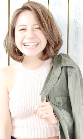 【euphoria Shibuya Grande 宮本】大人可愛いツヤカールボブ☆