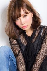 【Euphoria】フェアリーバングの今っぽワンカールのミディ☆小幡