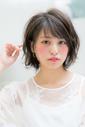 【Euphoria】小顔×2*透明感のあるボブ*