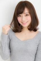 【Euphoria】大人可愛い☆ひし形シルエットの小顔ロブ【山村】