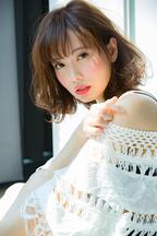 【Euphoria】モーブカラーのふわミディ☆【小幡】