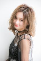 【Euphoria】大人かわいい外ハネカジュアルミディ☆【小幡】