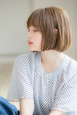 【Euphoria】柔らかい質感のサラっとキュートボブ☆宮川