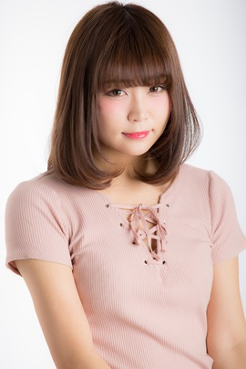 【Euphoria】大人可愛い小顔ヘア☆王道のワンカールロブ☆山村