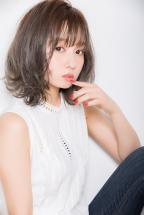 【Euphoria】シースルーバング×ハイ透明感×外ハネボブ【小幡】