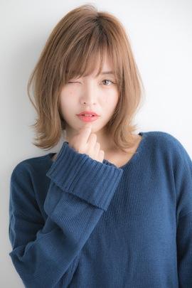 【Euphoria】大人可愛い☆ひし形シルエットの小顔外ハネボブ☆