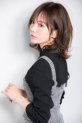 『小顔になりたい』を叶えるシースルーバングのネオウルフ☆小幡