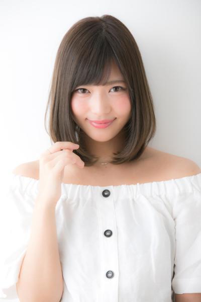 グレージュカラーが可愛い☆小顔ロブ【山村】