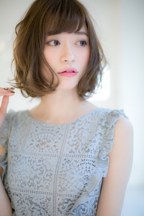 Euphoria】デジタルパーマが可愛い☆小顔ボブ