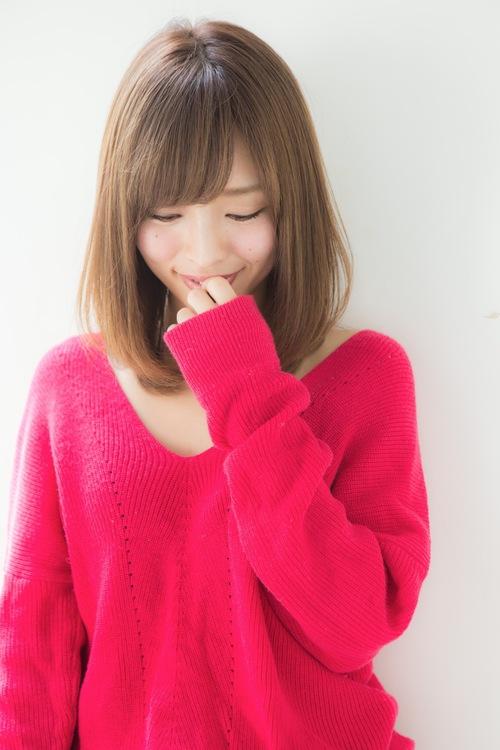 【Euphoria】大人可愛いナチュラル小顔ロブ☆【山村】