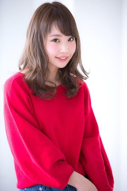 【Euphoria】大人可愛い☆シフォンカールふわミディ☆【山村】