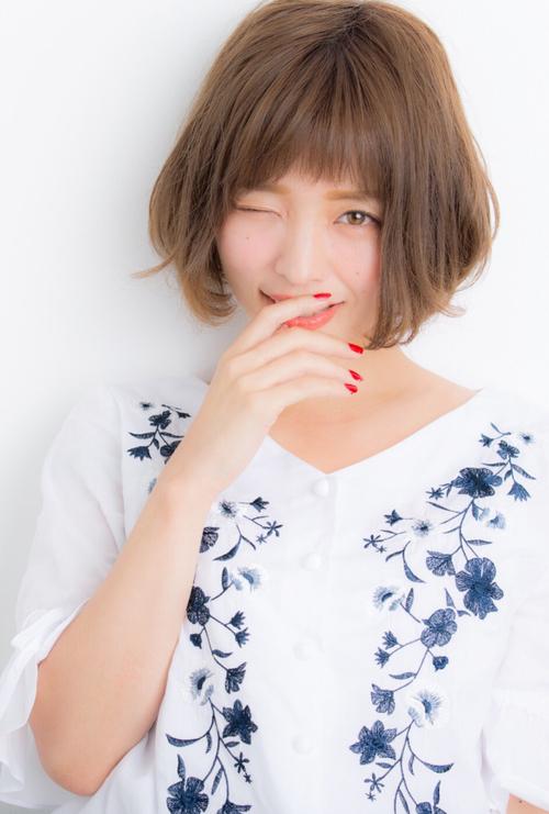 【Euphoria】大人かわいい☆小顔ショートボブ