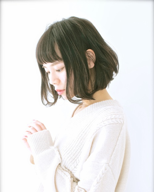 【Euphoria】ショートバングが可愛い☆大人ボブ