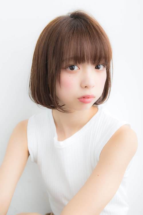 【Euphoria 佐藤】小顔に見える☆タンバルモリボブ♪