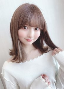 【Euphoria山村】ベルモリヘア☆小顔外はねロブ【銀座】