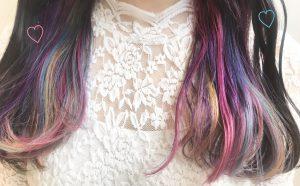 【大人気メニュー】派手髪デザインカラー3選★