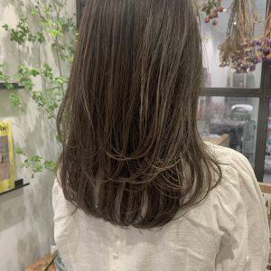 梅雨のつやつや艶髪