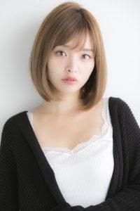 【Euphoria】大人可愛い☆小顔ナチュラルボブ【山村】