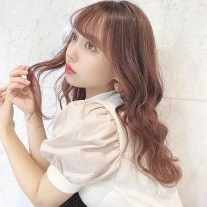 【Euphoria/Risa】自分の髪にきゅんとする♪艶々ピンクカラー